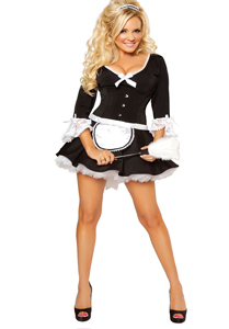 5 Star Fantasy - VIP Montreal Escorts- Halloween Costumes - French Maid