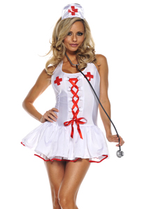 5 Star Fantasy - VIP Montreal Escorts- Halloween Costumes - Naughty Nurse