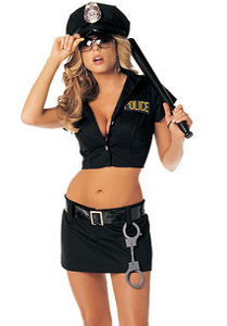 5 Star Fantasy - VIP Montreal Escorts- Halloween Costumes - Police Costume